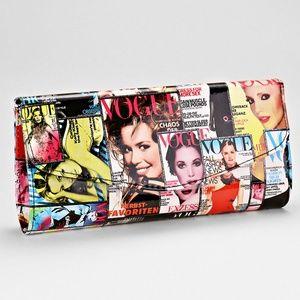 Vogue Magazine Cover Clutch